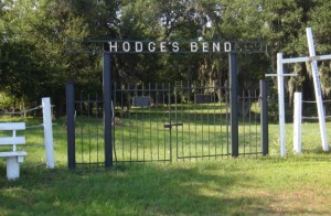 Hodges Cemetery Entrance